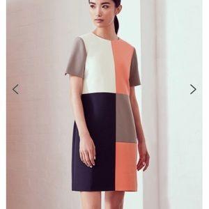 Ted Baker ARDELL Colour-block shift dress